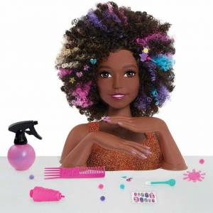 Barbie African Styling Head (2)