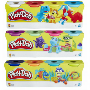 Play Doh Tubs