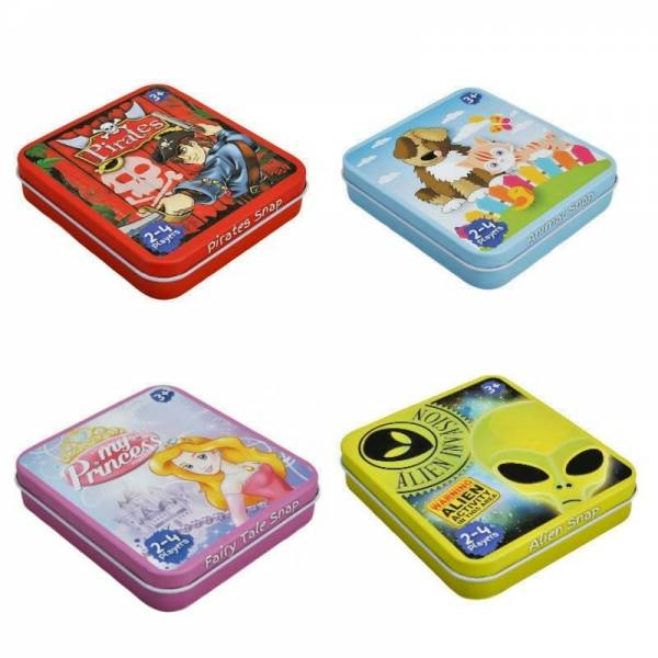 Snap Cards in a Tin Childrens Game