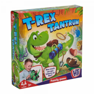 T-Rex Tantrum Game