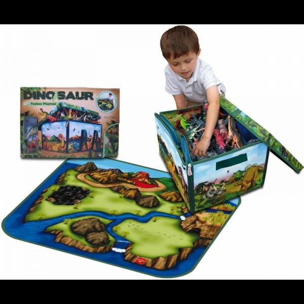 Dinosaur Zip Bin Storage Box (2)