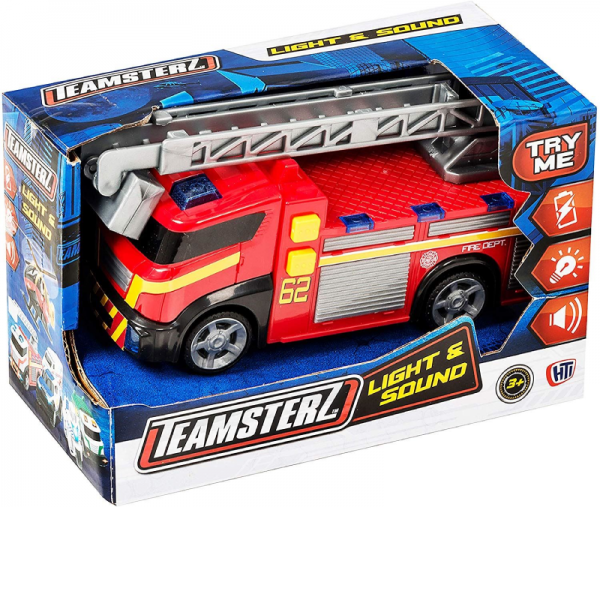 Emergency Teamsterz Vehicles Toy with Lights and Sounds (3)
