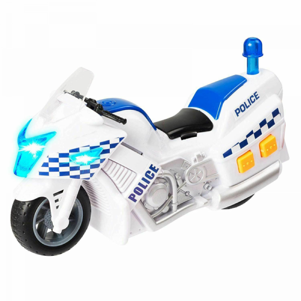 Emergency Teamsterz Vehicles Toy with Lights and Sounds (8)