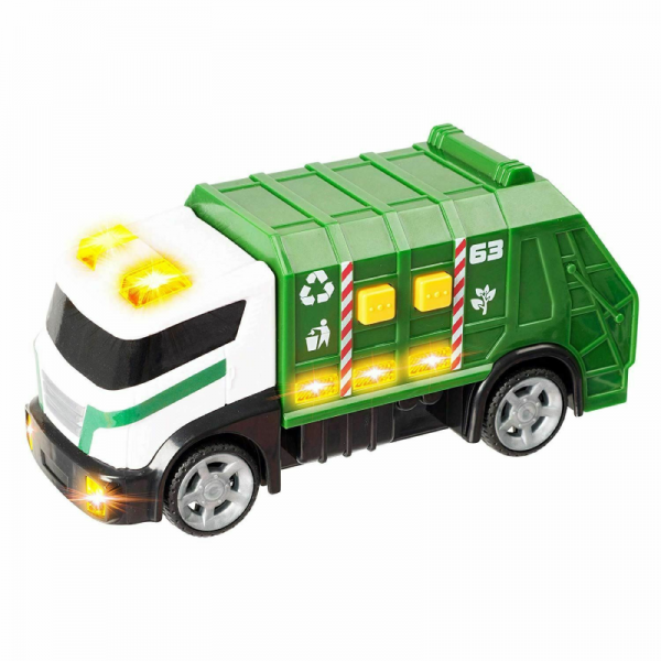 Garbage Truck Bin Lorry Teamsterz Vehicles Toy with Lights and Sounds (9)