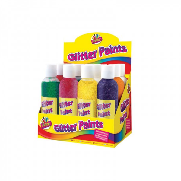 Ready Mixed Paint Glitter Finger (1)