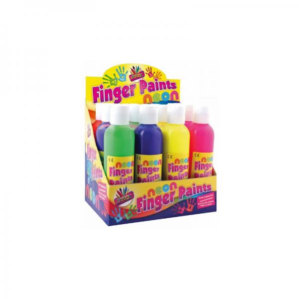 Ready Mixed Paint Glitter Finger (3)