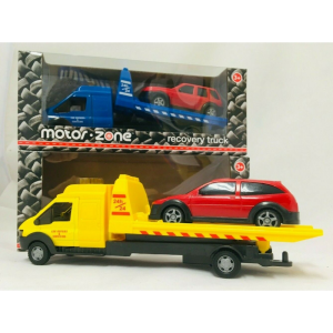 Recovery Truck Motorzone Toy Flatbed