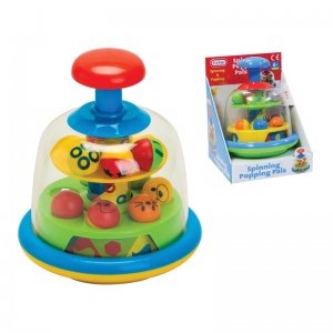 Spinning Popping Pals Fun Time