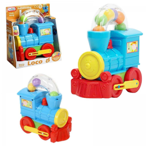Funtime Push Along Blowing Train