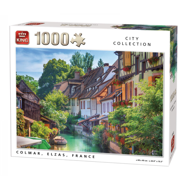 Colmar France Kings Jigsaw Puzzle 1000pcs
