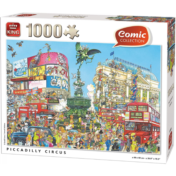 Piccadilly Circus Kings International Jigsaw Puzzle 1000pcs