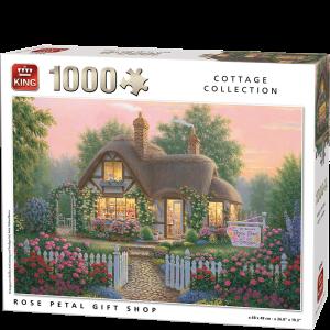 Rose Petal Shop Kings Jigsaw Puzzle 1000pcs