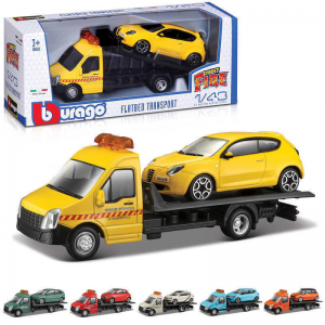 Burago Flatbed Transporter