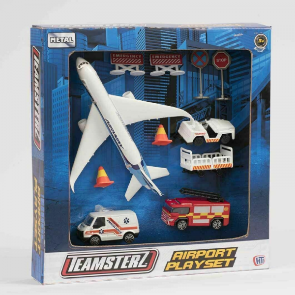 Teamsterz Airport Playset Toy