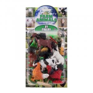 FARM ANIMALS 21PCS