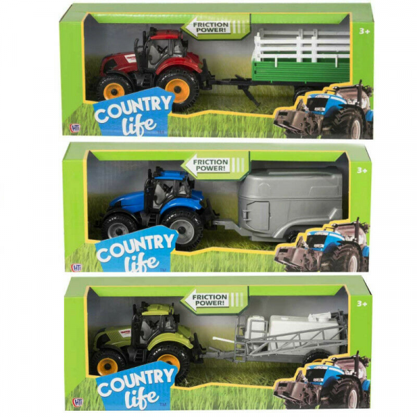 Tractor Toy & Trailer Farm Toy
