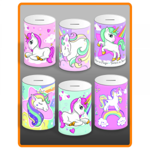 Unicorn Money Tin