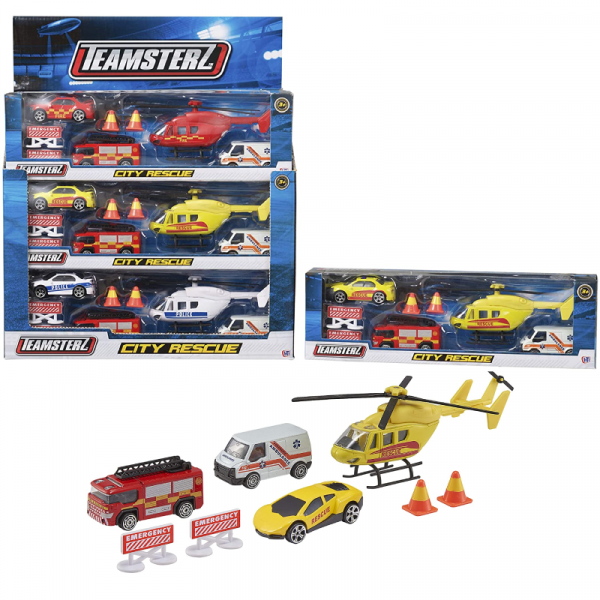 Teamsterz City Rescue Set