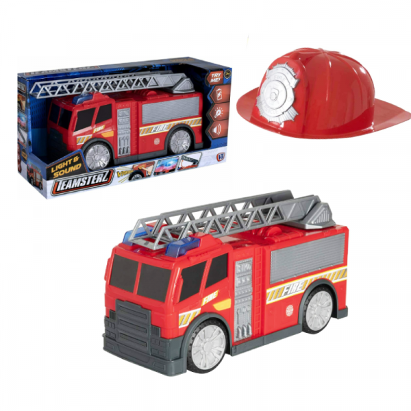 Fire Truck with Hat