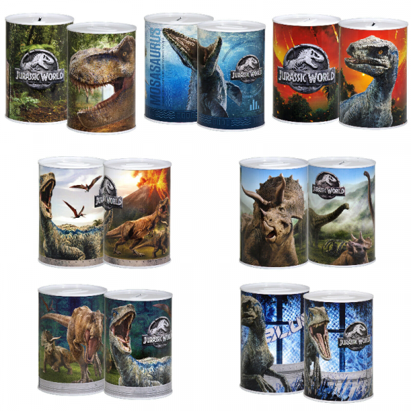 Jurassic World Money Tin